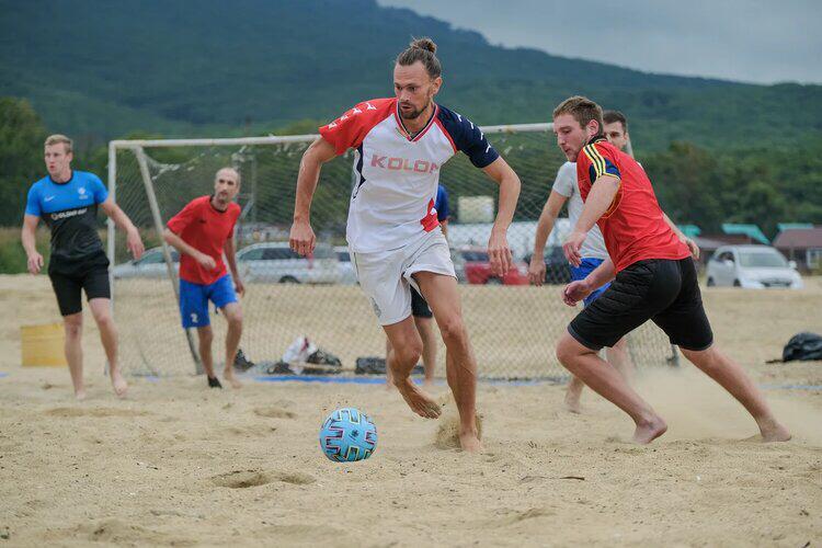 пляжный футбол, футбол Находки