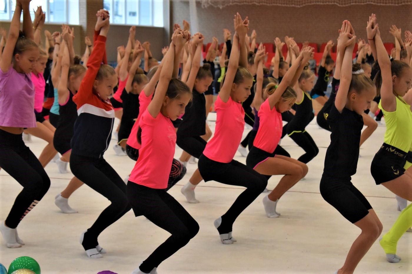 Мастер-класс Веры Бирюковой во Владивостоке. Фото: Спорт 25