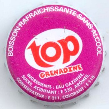 Top grenadine