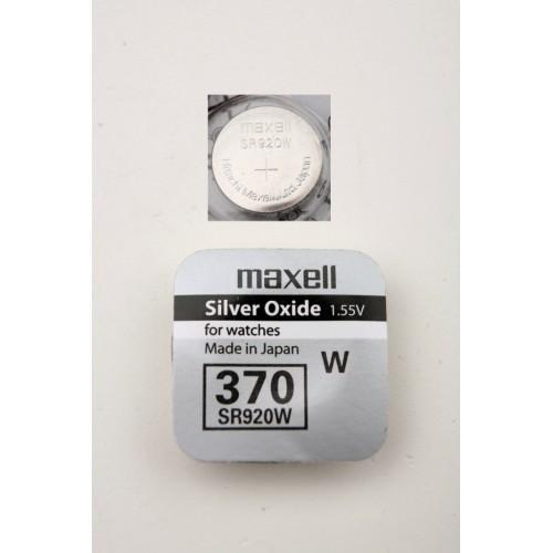 Элемент питания MAXELL SR920W     370