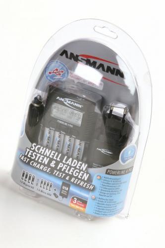 ANSMANN 1001-0005 Powerline 4 Pro BL1