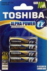 Батарейка, элемент питания 6*LR6 + 4*LR03 multipack TOSHIBA 10/card