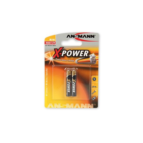 Элемент питания ANSMANN X-POWER 1510-0005 AAAA  BL2