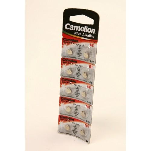 Элемент питания Camelion AG1-BP10 AG 1   364 BL10