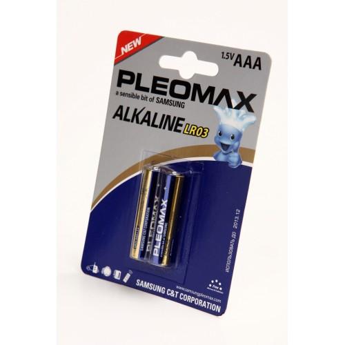 Элемент питания PLEOMAX samsung LR03 BL2