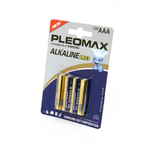 Элемент питания PLEOMAX samsung LR03 BL4