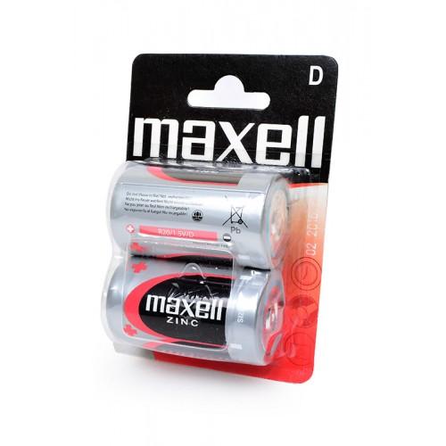 Элемент питания MAXELL R20 BL2