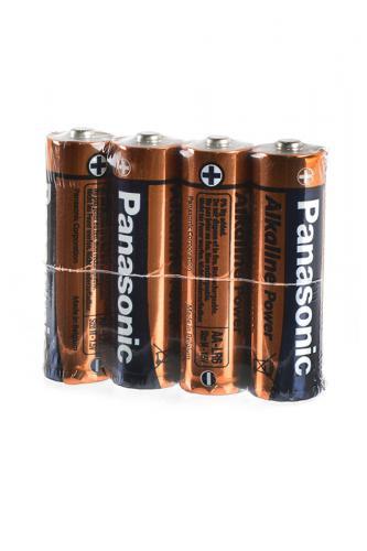 Panasonic Alkaline Power LR6APB/4P LR6 SR4, в упак 48 шт