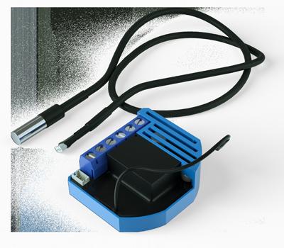 ZMNKID4- Qubino Flush On/Off Thermostat 2 - Z-Wave термостат в комплекте с термодатчиком