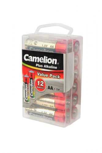 Camelion Plus Alkaline LR6-PBH12 LR6 в пласт. боксе 12 шт, элемент питания, батарейка
