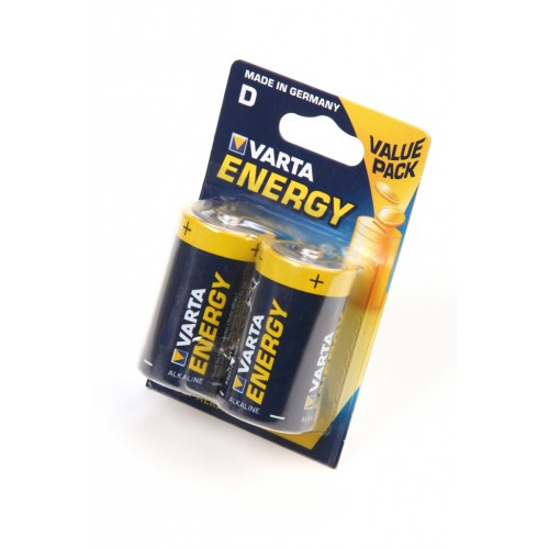 VARTA ENERGY 4120 LR20 BL2, элемент питания, батарейка