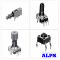 Переключатели и потенциометры ALPS
