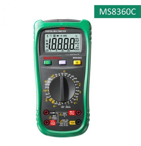 Mastech цифровой мультиметр с детектором напряжения MS8360C
