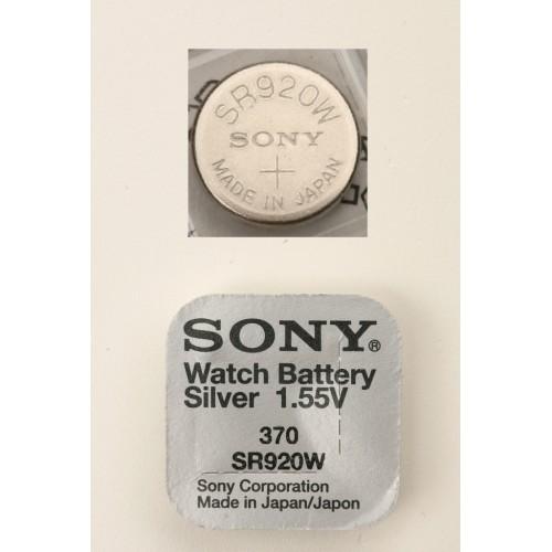 Элемент питания SONY SR920W         370
