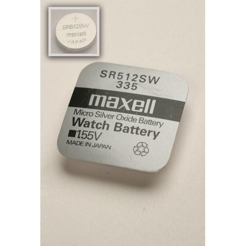 Элемент питания MAXELL SR512SW   335