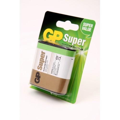 Элемент питания GP Super 312А-U1 3LR12 BL1