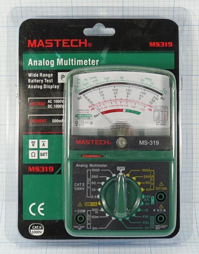 Аналоговый стрелочный мультиметр  Mastech MS319 а