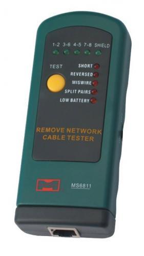 Mastech тестер кабеля(замыкание,обрыв,идентиф.в многож.кабелях) MS6811