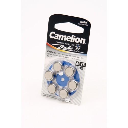 Элемент питания Camelion A675-BP6 BL6