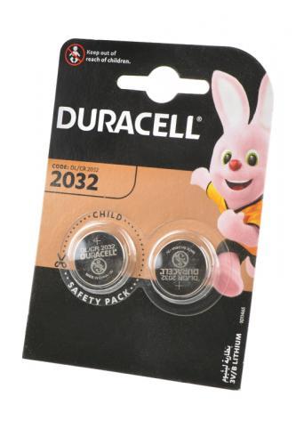 Элемент питания DURACELL CR2032 BL2