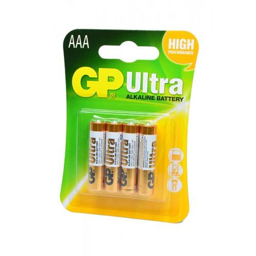 Элемент питания GP Ultra GP24AU-2UE4 LR03 BL4