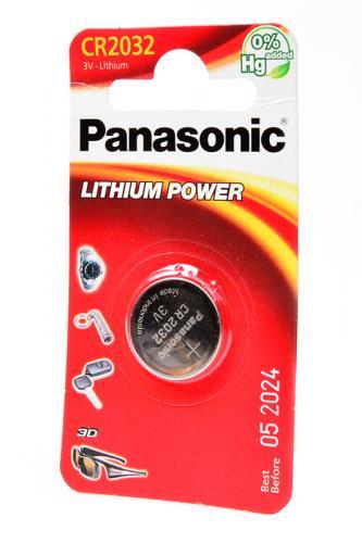 Panasonic Lithium Power CR-2032EL/1B CR2032 BL1
