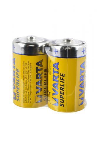 VARTA SUPERLIFE 2020 R20 SR2, в уп. 24шт, элемент питания, батарейка