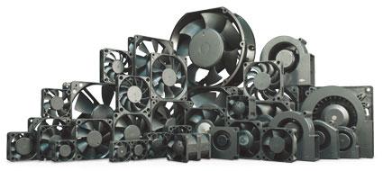 Таблица подбора осевых вентиляторов до 60 мм (DC) YS TECH USA