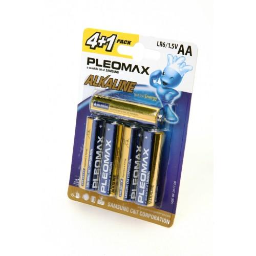 Элемент питания PLEOMAX samsung LR6-4+1 BL5