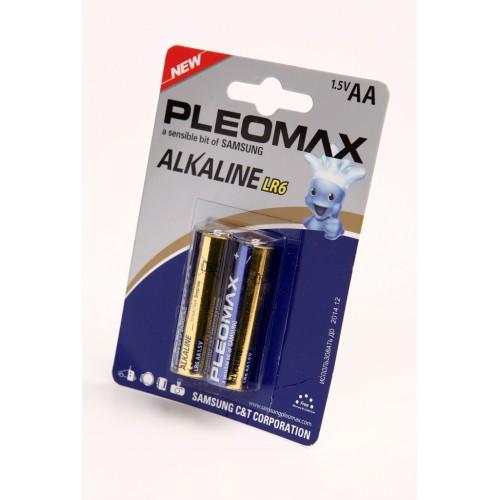 Элемент питания PLEOMAX samsung LR6 BL2