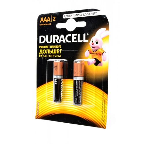 Элемент питания DURACELL LR03 BL2