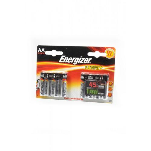 Элемент питания Energizer ULTRA+ made in USA LR6 BL8