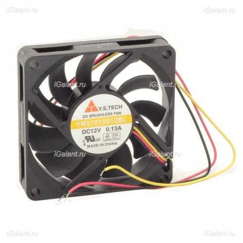 Вентилятор YW07015012BL-5 (3 провода, тахометр)
