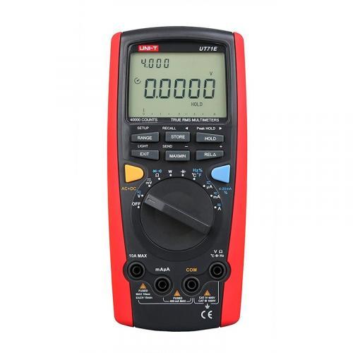Мультиметр цифровой с автоматическим выбором диапазона, true RMS, порт USB UNI-T UT71E