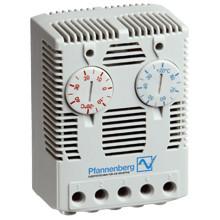 Сдвоенный термостат FLZ 541 2 х 0...+60С , НЗ/НО контакты