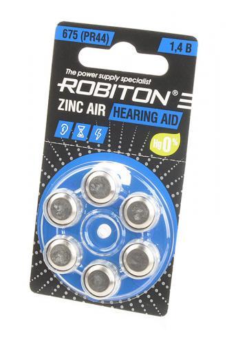 ROBITON HEARING AID R-ZA675-BL6 675 PR44 DA675 V675A BL6