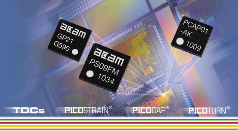 Микросхемы группы PICOSTRAIN компании Acam (AMS)