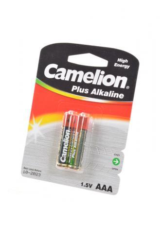 Camelion Plus Alkaline LR03-BP2 LR03 BL2, элемент питания, батарейка