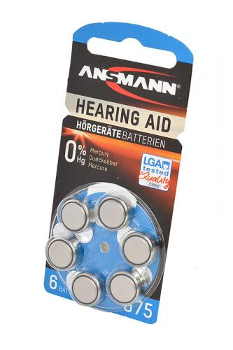 ANSMANN Zinc-Air 5013253 675 UK BL6