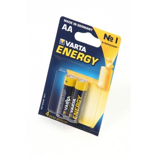 VARTA ENERGY 4106 LR6 BL2, элемент питания, батарейка