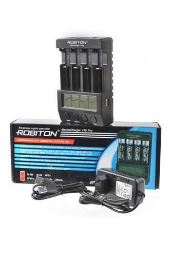 ROBITON MasterCharger 4T5 Pro (U8/10-Li/LF/MH/NC/NZ/LiCo/LiMn2-ZVDGCFIR)