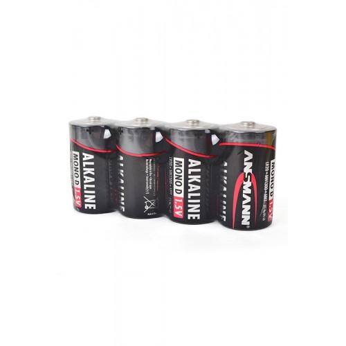 Элемент питания ANSMANN RED 5015581 LR20 SR4, в упаковке 20 штук