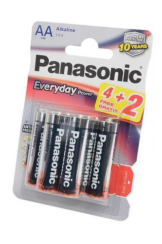 Panasonic Everyday Power LR6EPS/6BP 4+2F LR6 4+2шт BL6