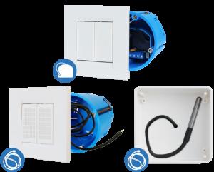 ZMNHLD4 - Qubino Flush PWM Thermostat - Z-Wave термостат для регулировки водяных полов и радиаторов (в комплекте с термодатчиком 1м)