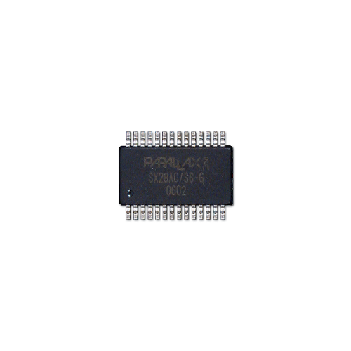 SX28AC/SS- G,  BS2sx,V1.3 PBASIC2SX-28/SS