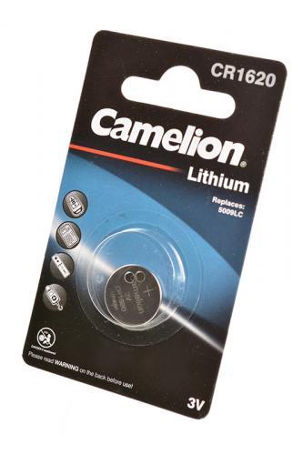 Camelion CR1620-BP1 CR1620 BL1, элемент питания, батарейка
