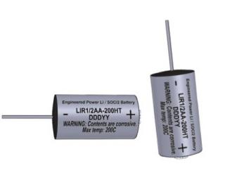 Элемент питания литиевый LIR1/2AA-200HT, Engineered Power