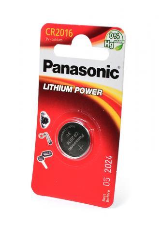 Panasonic Lithium Power CR-2016EL/1B CR2016 BL1