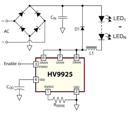 Supertex HV9925