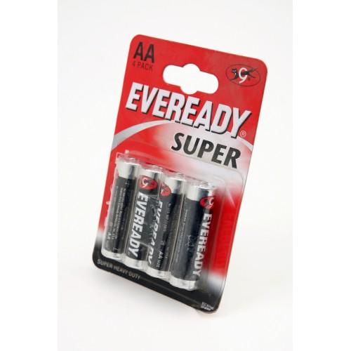 Элемент питания EVEREADY R6 Super HD BL4